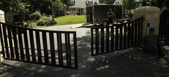 new-wrought-iron-gate-installation-with-power-opener