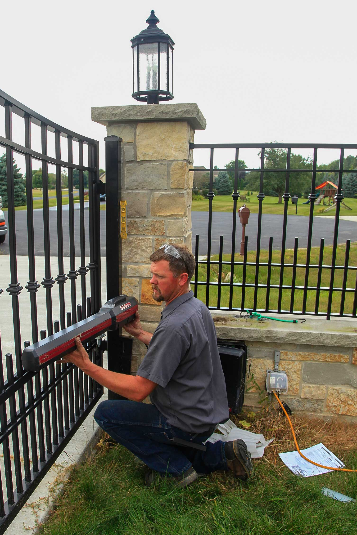 Gate Installation Driveway Amp Commercial Power Gate